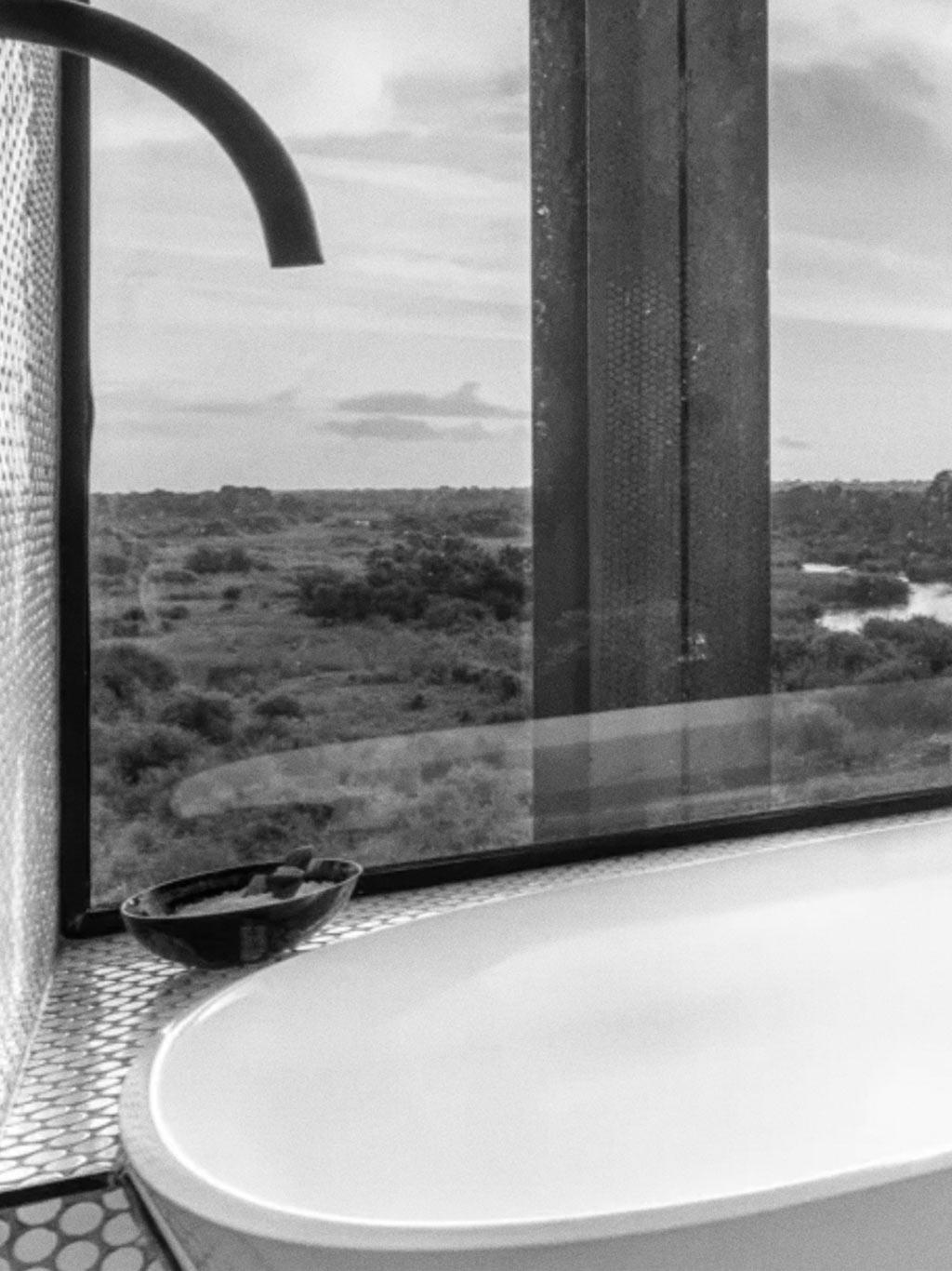Kruger Shalati: The Train on the Bridge