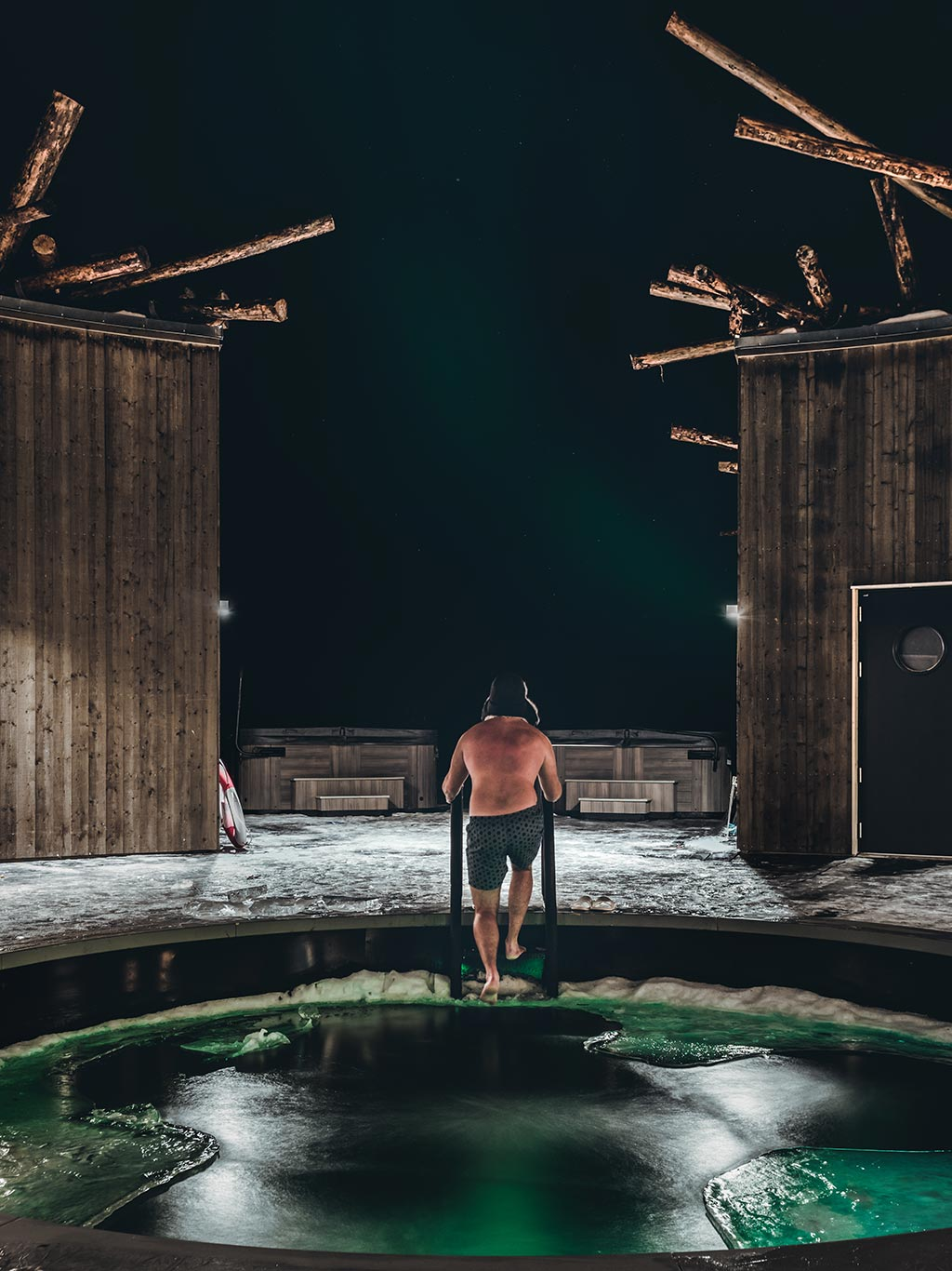 Arctic Bath: Floating in the heart of Swedish Lapland