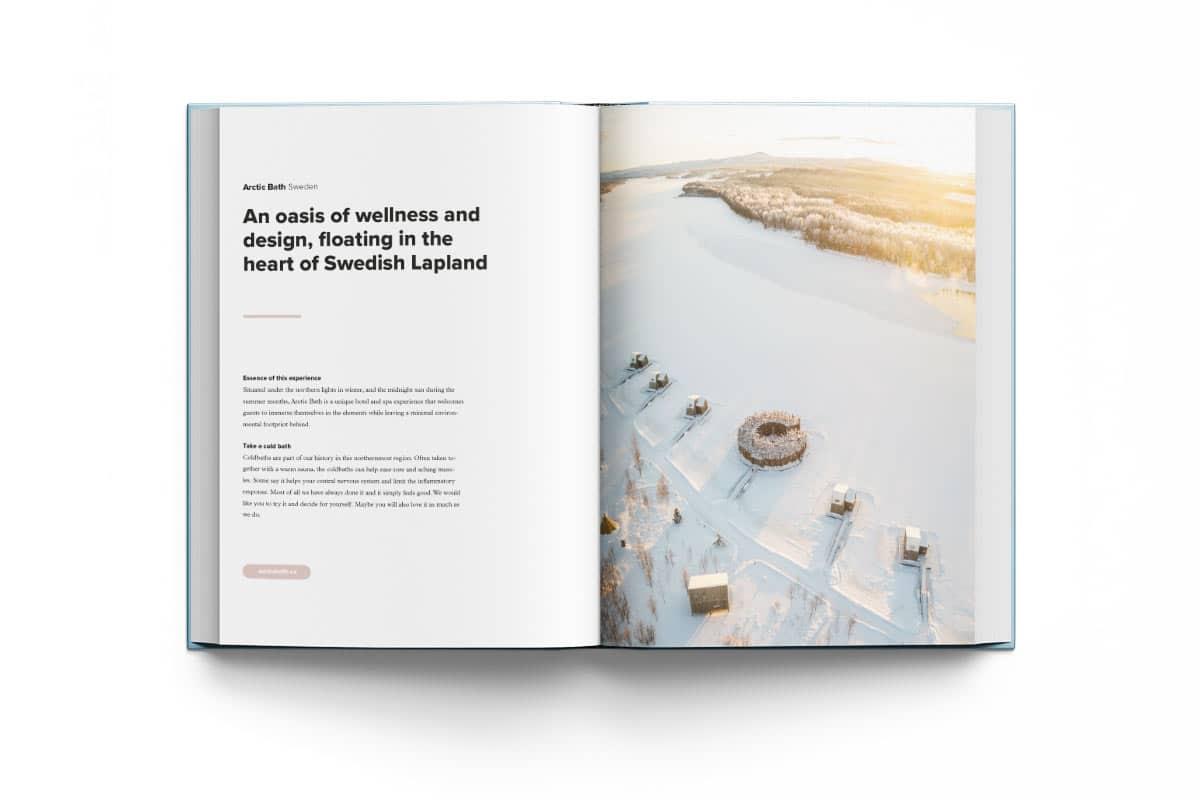 Arctic Bath flow experience sweden