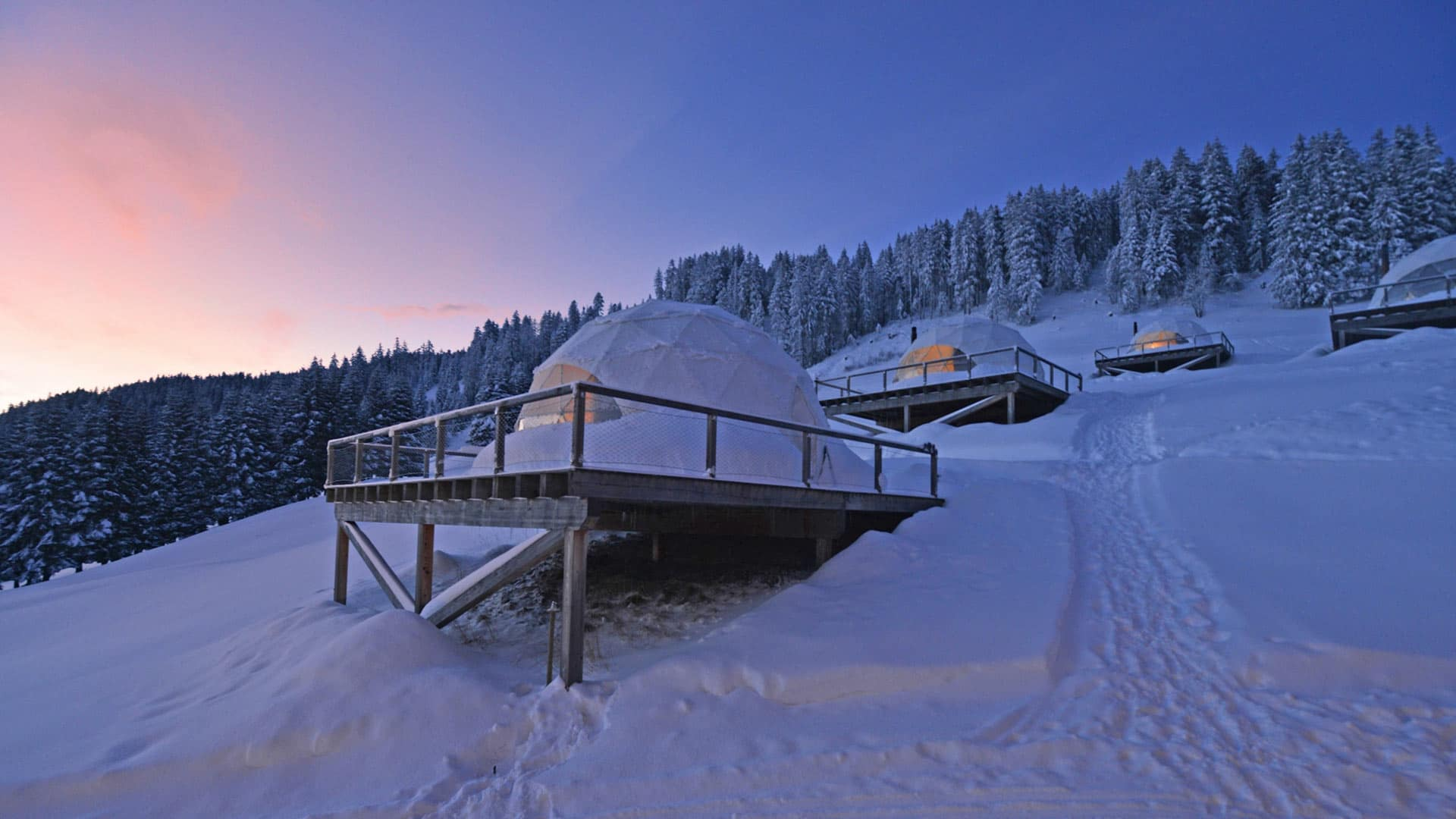 Whitepod: A Eco-Luxury Experience in the Heart of Switzerland